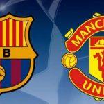 توافد جماهير برشلونة وراء نجوم فريقها لمواجة فريق مانشستر يونايتد الانجليزي
