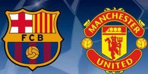 مانشستر يونايتد ضد برشلونة