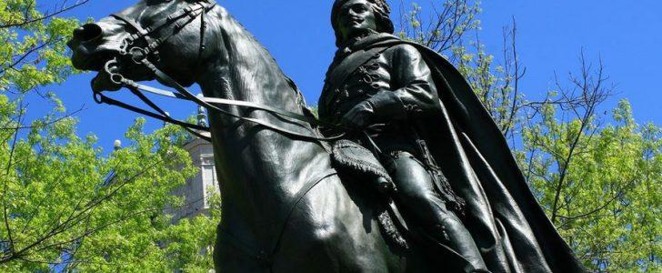 """قصص أمريكا الخفية: الجنرال كازيمير بولاسكي كان امرأة """" الأب الروحي لسلاح الخيالة الأمريكي"""""""
