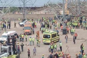 سقوط برج الوراق يسفر عن 4 قتلى و2 جرحى في صفوف المصريين اليوم 17/11/2019