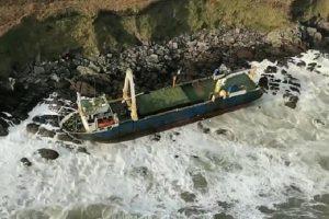 """حادثة """"سفينة أشباح """" في إيرلندا الأولى من نوعها"""