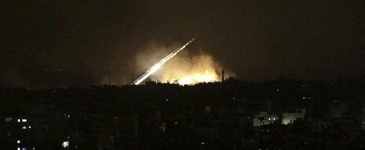 قصف اسرائيلي بدمشق يسفر عن مقتل ضباط سوريين و إيرانيين